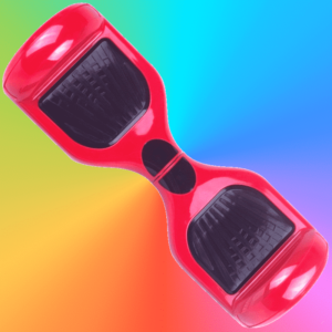 hoverboard rouge red