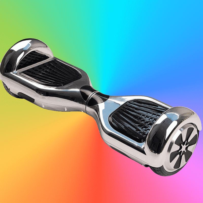 Armario Locker ~ Hoverboard argent chromé Hoverboard Skateélectrique de France