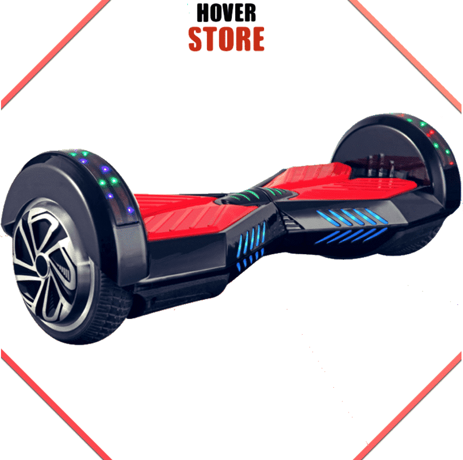hoverboard noir et rouge 8 pouces meilleur rapport qualit. Black Bedroom Furniture Sets. Home Design Ideas