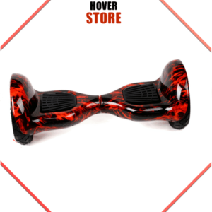 Hoverboard Rouge Flamme 10 Pouces