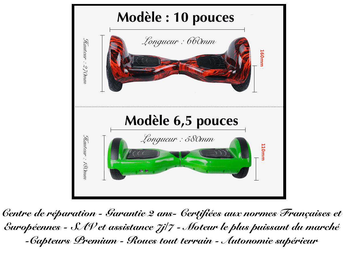 hoverboard 10 pouces pas cher