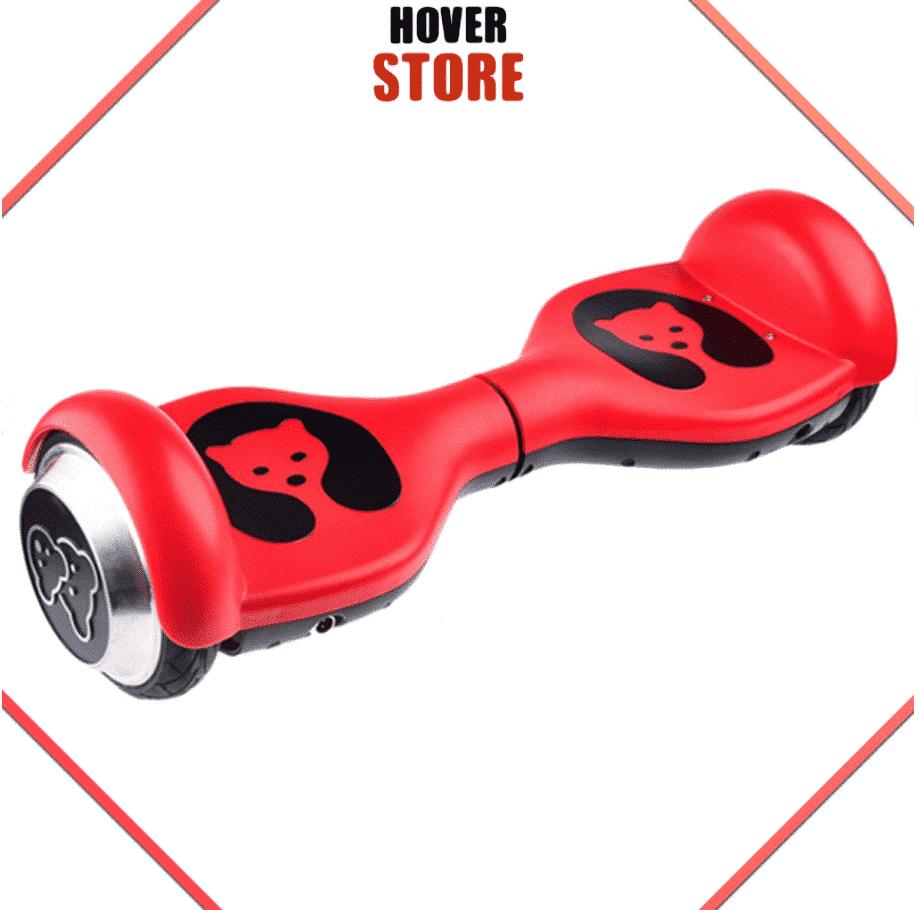 hoverboard rouge pour enfant
