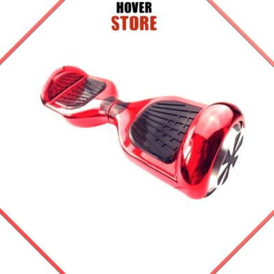 Hoverboard rouge chromé