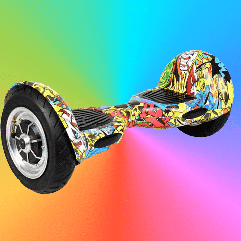 hoverboard grafiti 10 pouces hoverboard skate lectrique de france. Black Bedroom Furniture Sets. Home Design Ideas