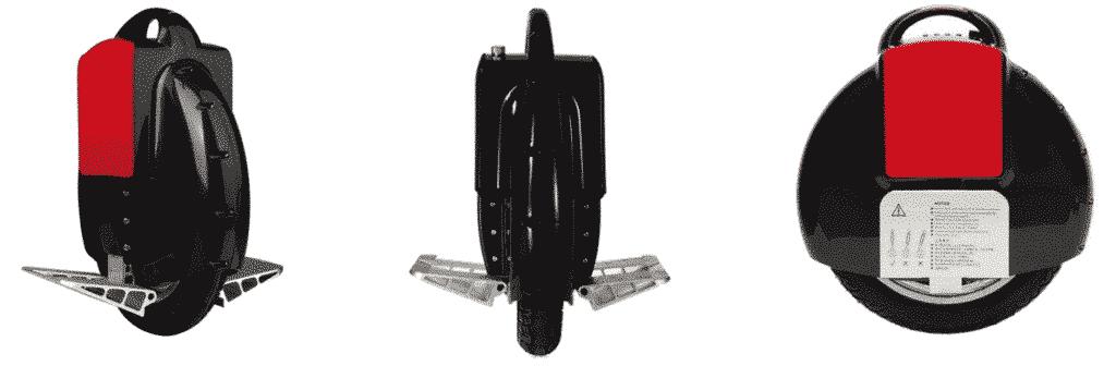 Monoroue électrique Noir