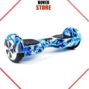 Hoverboard bleu et blanc