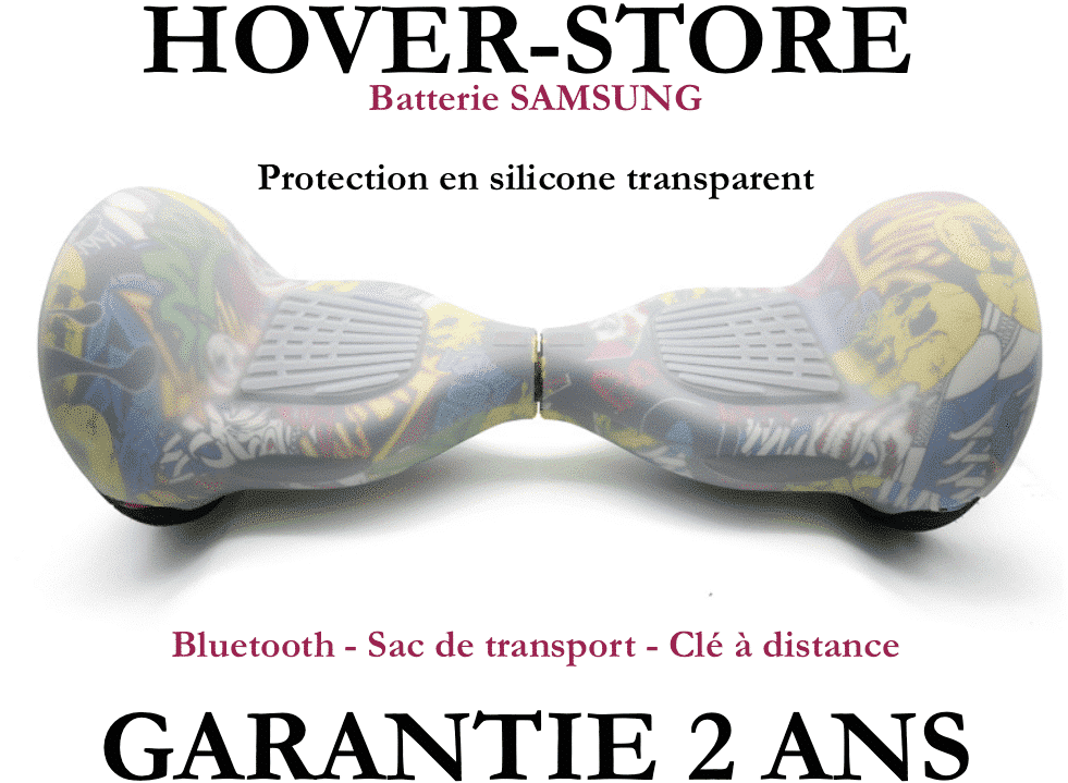 coque transparent pour hoverboard