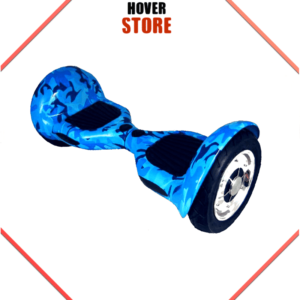 Hoverboard Bleu Camouflage Hoverboard 10 Pouces Camouflage bleu
