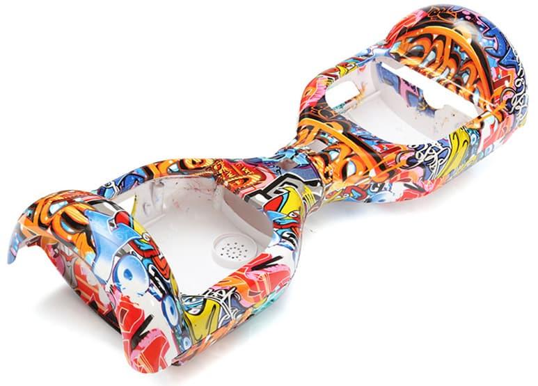 Coque Hoverboard : Coque en plastique pour Hoverboard 6,5 pouces