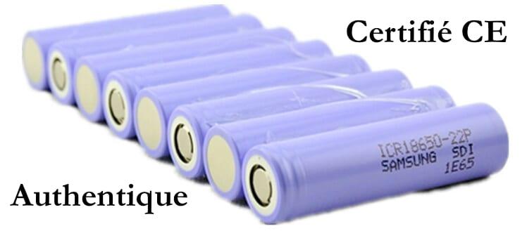 Batterie pour hoverboard pas cher batterie samsung 4.4Ah