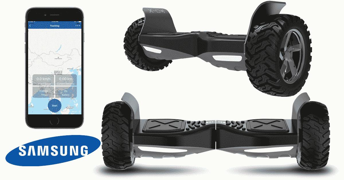 Hoverboard tout terrain avec taotao