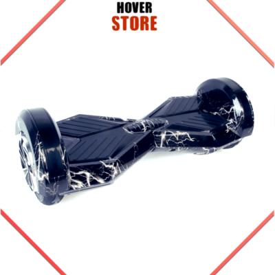 Hoverboard 8 pouces noir et blanc