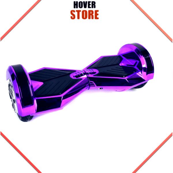Hoverboard Violet Chrome Hoverboard 8 pouces violet chrome