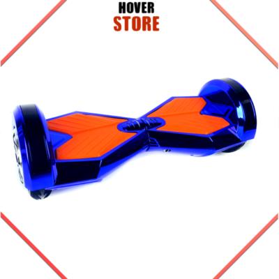 Hoverboard 8 pouces bleu chrome