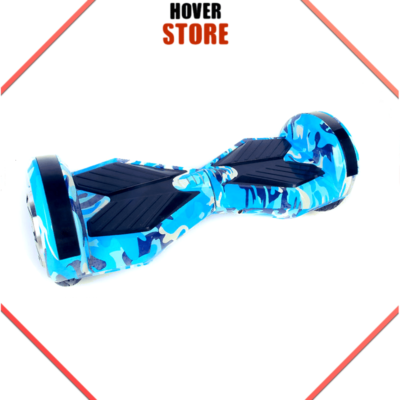 Hoverboard 8 pouces Camouflage bleu