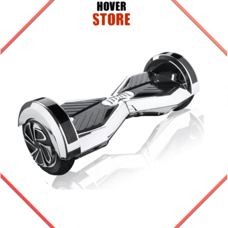 Hoverboard 8 pouces Argent