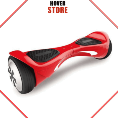 Hoverboard Connecté avec App Mobile bluetooth rouge