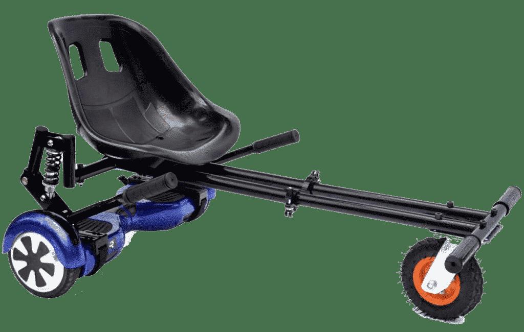 Hoverkart tout terrain avec suspension