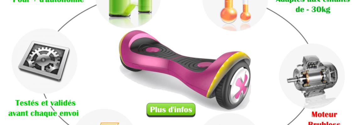 hoverboard 4.5 pouces - hoverboard pour enfant - boutique