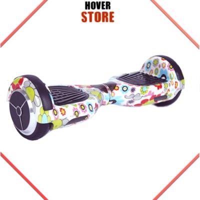 Hoverboard Fleuri