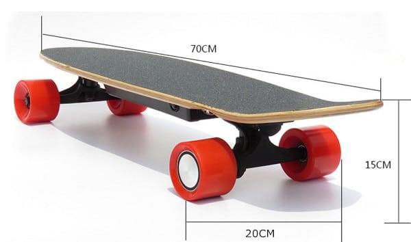 Skateboard Electrique Dimensions