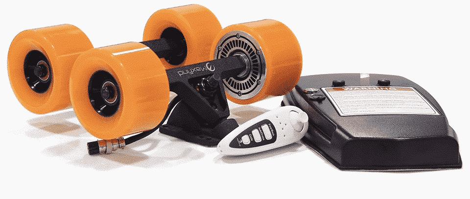 Pack pour intégrer un moteur sur un skate électrique