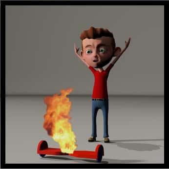incendie hoverboard