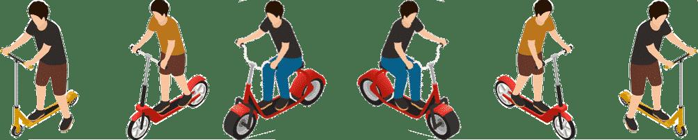 moto harley city coco bike lectrique hover store. Black Bedroom Furniture Sets. Home Design Ideas