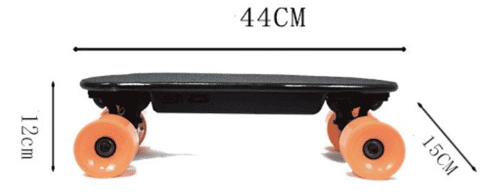 Mini Skate électrique Orange
