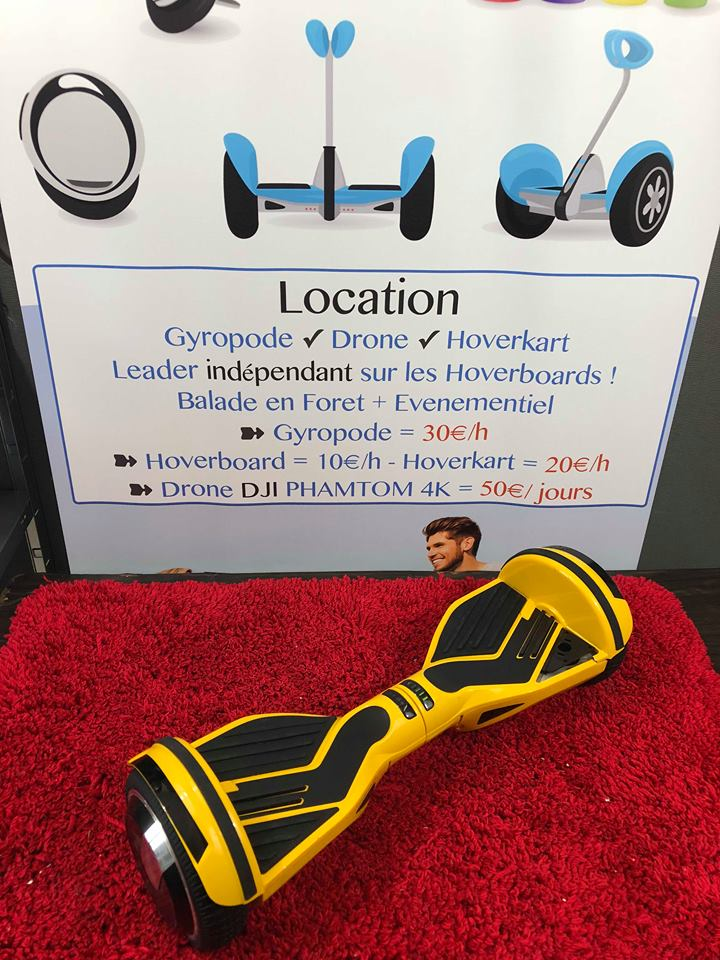 Hoverboard 2.0 jaune