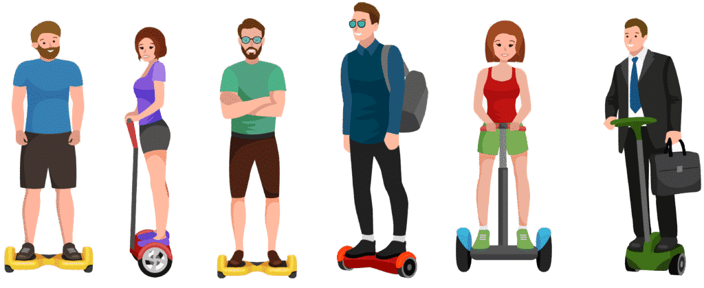 Gyropode Hoverboard