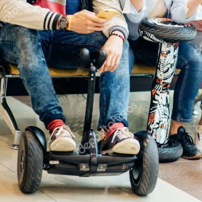Hoverboard bluetooth connecté