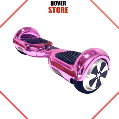 Hoverboard Chromé