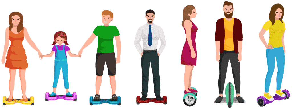 Hoverboard / Gyropode / Skate électrique / Trottinette électrique / Bike électrique
