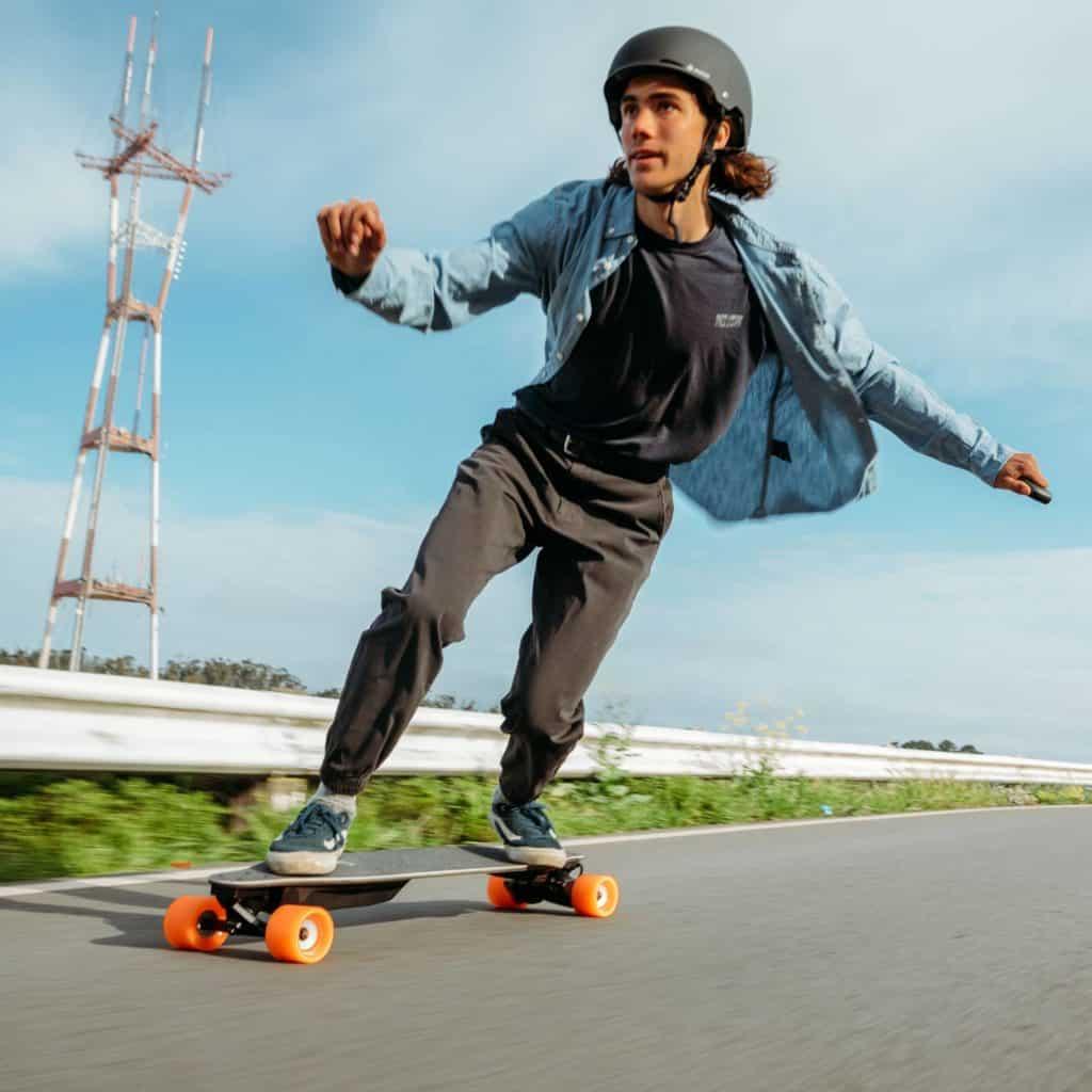 Skate électrique : skateboard