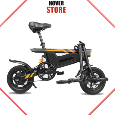 Vélo electrique avec suspension