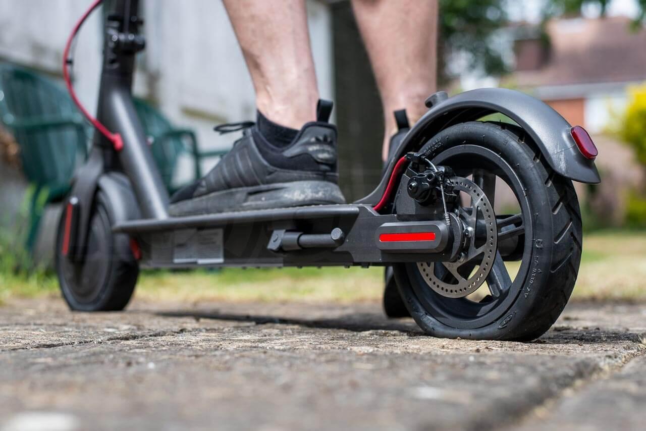 Crevaison de pneu de trottinette electrique xiaomi m365