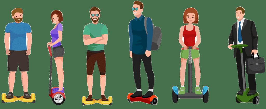Hoverboard-Gyropode