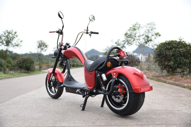 Citycoco rouge scooter electrique